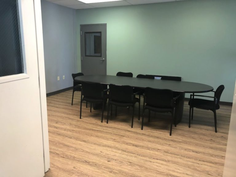Conference room and office renovation